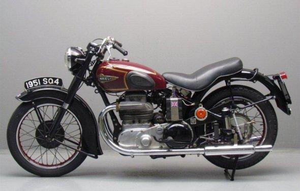 Ретро мотоцикл Ariel Square