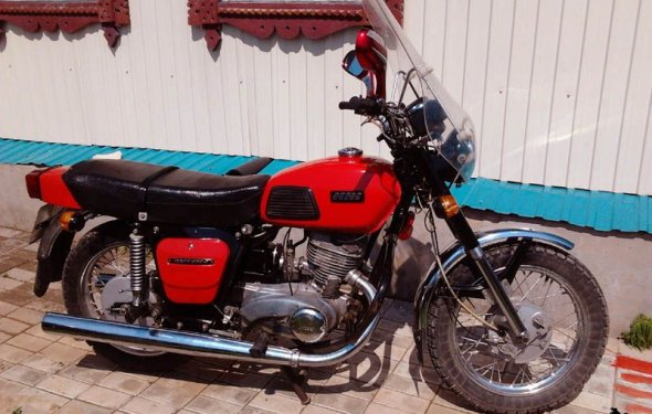 мотоцикл планета 4