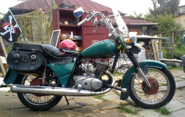 Тюнинг мотоцикла Иж