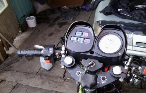 Клипоны для мотоцикла иж