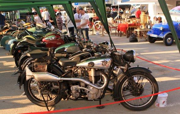 Недаром мотоциклы представлены