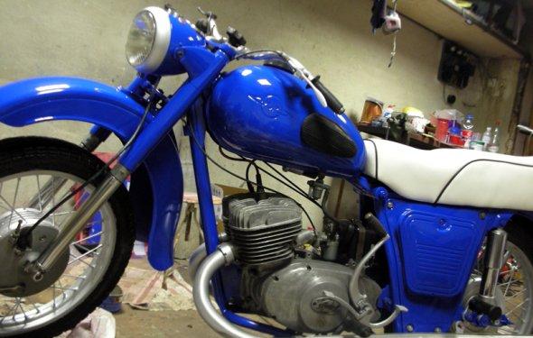 Реставрация мотоциклов для