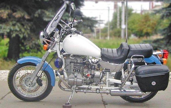 Модели мотоциклов Урал и Днепр