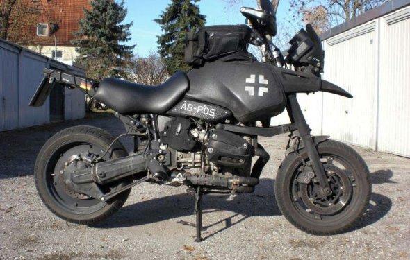 Мото тюнинг → Мотоцикл BMW