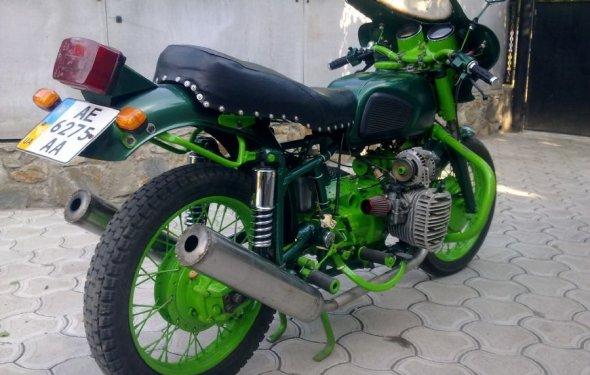Мотоцикл Днепр 11 МТ легко