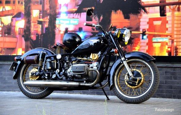Мотоцикл Днепр, ломаем
