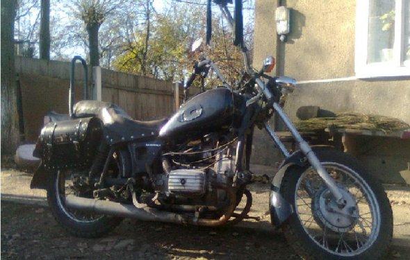 Мотоцикл Днепр МТ 10 36 тюнинг
