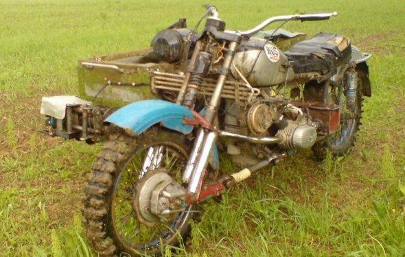 Мотоцикл Урал М 67 полный