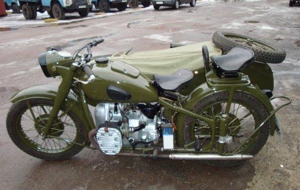 мотоцикла К-750 М