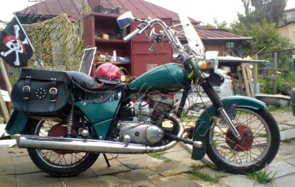 мотоциклы иж фото тюнинг
