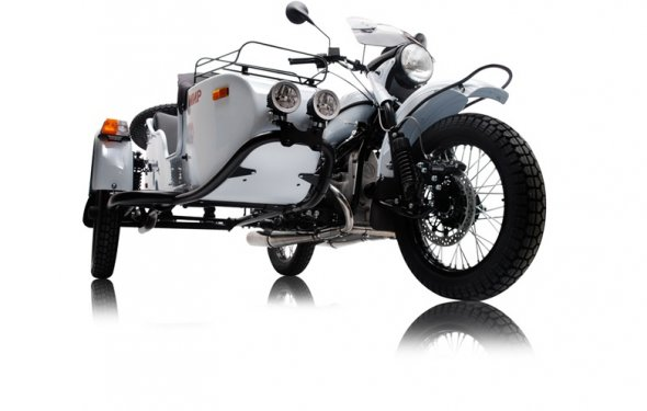 Новый мотоцикл Урал Мир