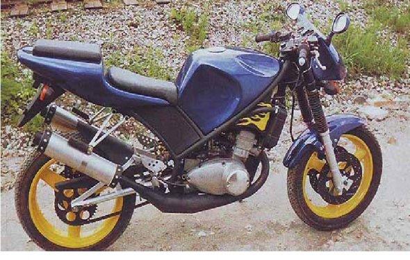 Переделка мотоцикла Иж