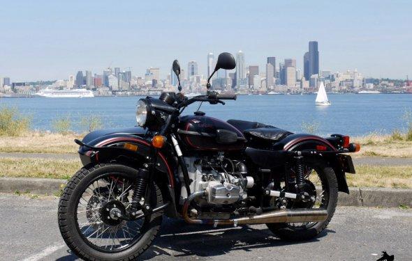 Современный мотоцикл Урал