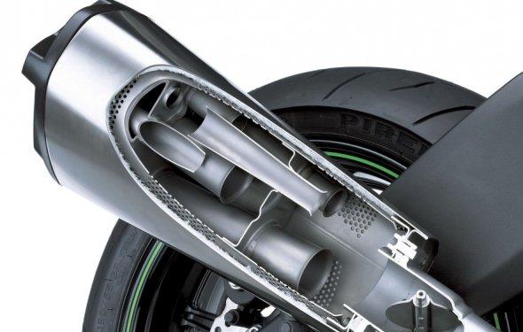 Выхлопная система мотоцикла