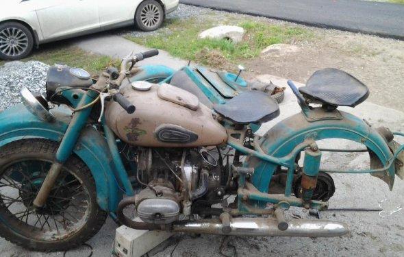реставрация М-63 Мотоцикл Урал