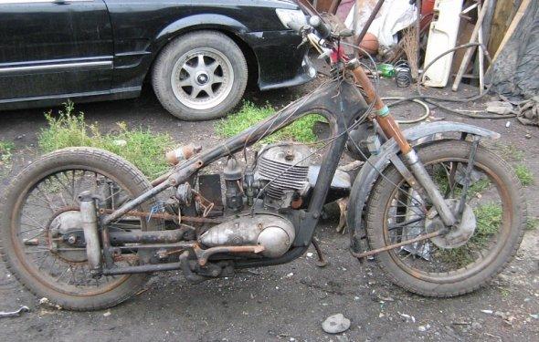 Re: Реставрация мотоцикла ИЖ