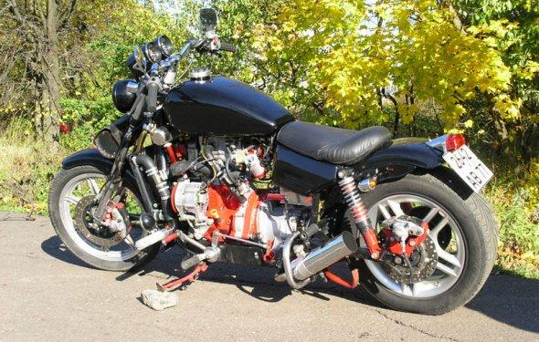 мотоцикл стоил порядка 2-3