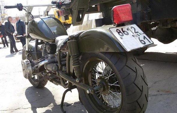 Рама мотоцикла очень
