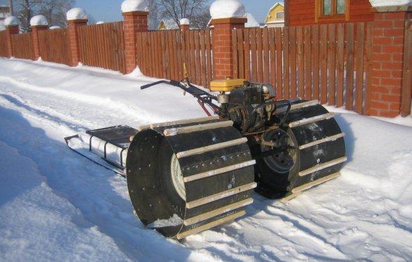 Снегоходы ( самоделки и