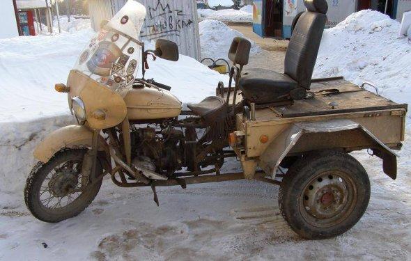Трицикл своими руками из мото