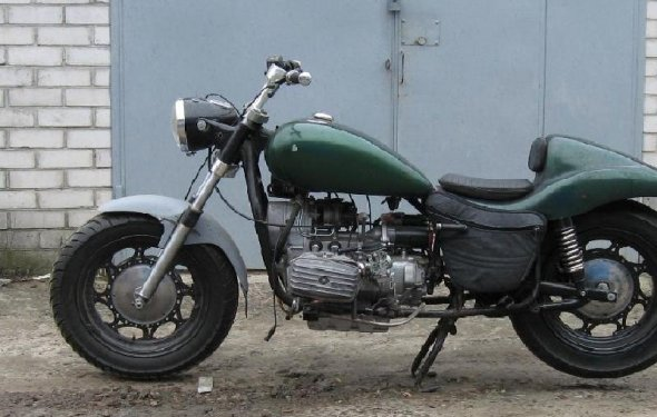 Тюнинг мотоцикла Урал своими