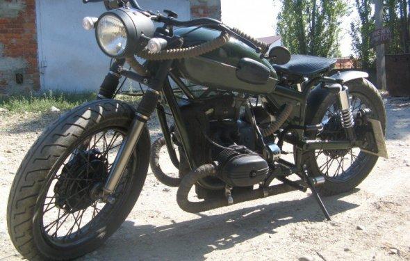 Тюнинг мотоцикла урала видео