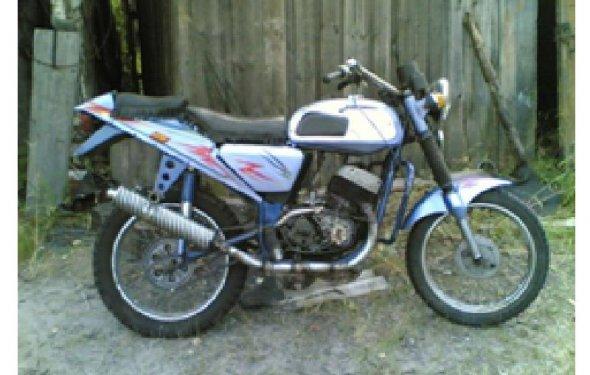 Тюнинг мотоцикла Ява 350